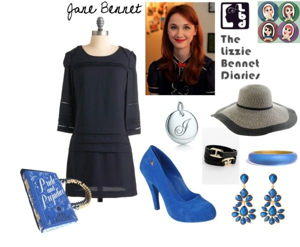 Jane Bennet- The Lizzie Bennet Diaries, created by melloen on Polyvore