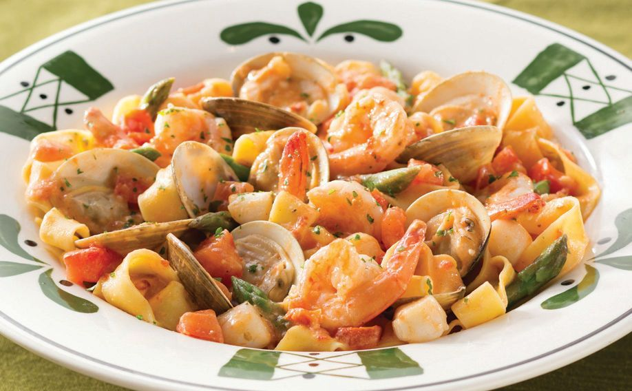 Pappardelle Pescatore | Olive Garden Favorites | Olive ...