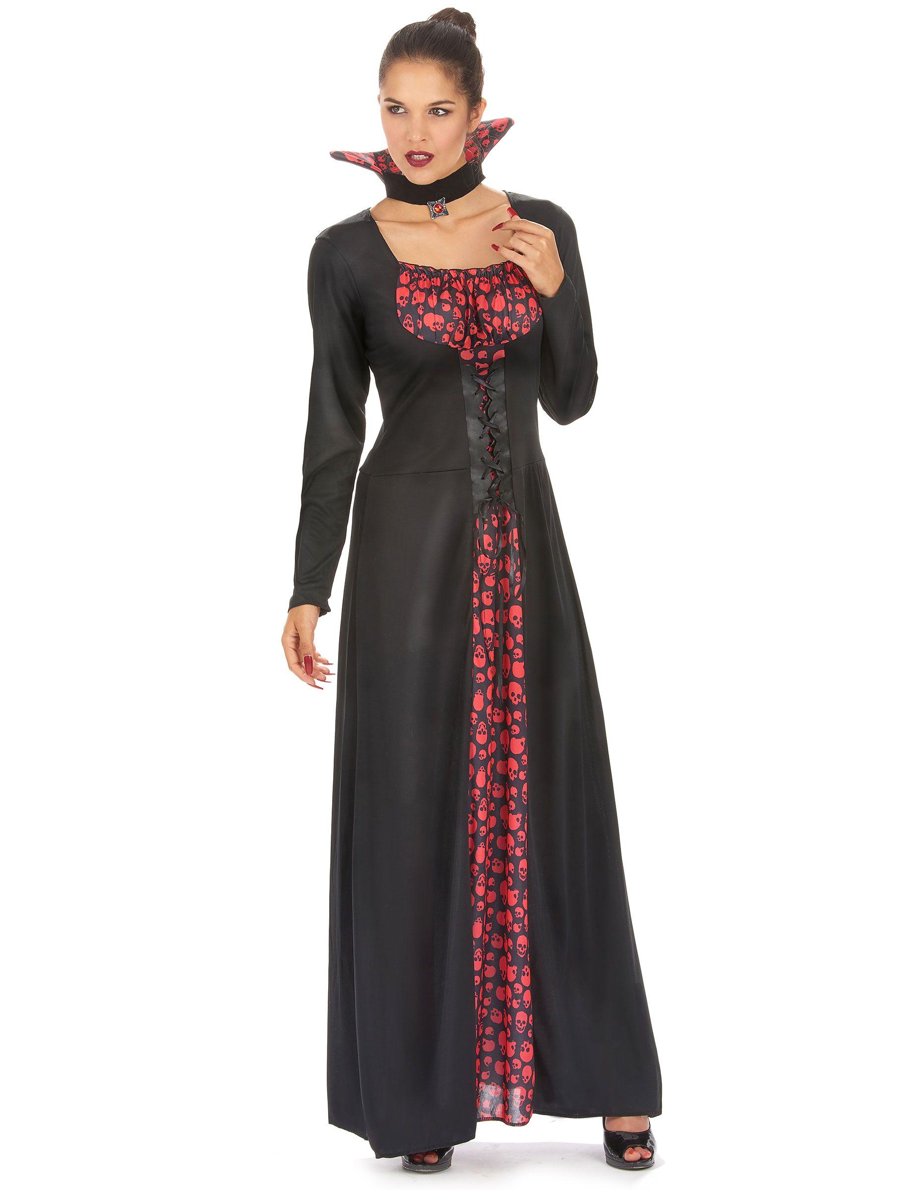 d guisement vampire l gant femme halloween vampire. Black Bedroom Furniture Sets. Home Design Ideas