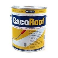 Gaco White Or Grey 1 Gallon 62 12 Gaco Roof Silicone Roof Coating Is A Two Coat And Your Done Roof Coating It Will Out Pe Roof Coating Roof Material For Sale