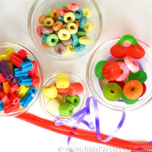 edible jewelry party craft supplies kidsparties123 party