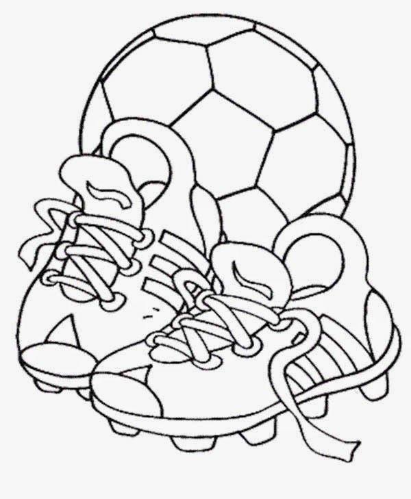 Dibujos De Futbol Para Imprimir Y Colorear 01 Dibujos De Futbol
