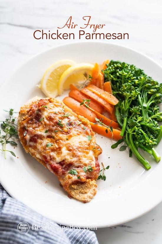 Air Fryer Chicken Parmesan | Recipe | Chicken parmesan ...