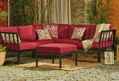 Shared From Flipp: Mission Ridge 4 Piece Sectional Sofa Set In The Kroger  Flyer