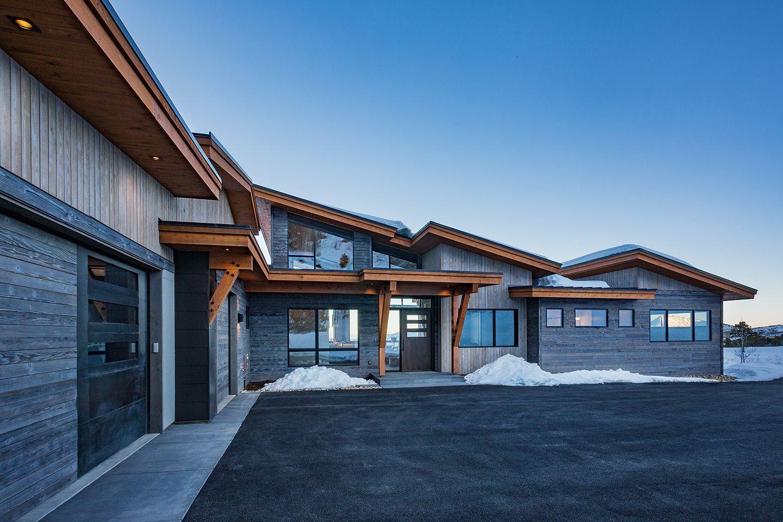 Colorado Bauhaus Custom Home Photo Gallery (With images