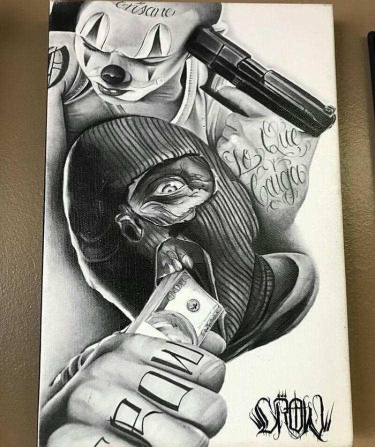 Pin By Kristina On Chikano Gangsta Tattoos Chicano Art Tattoos Chicano Style Tattoo