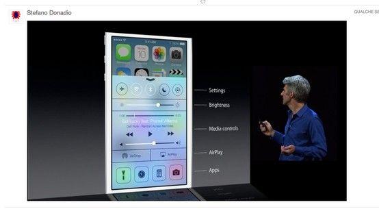 NEW IOS 7 INTERFACE