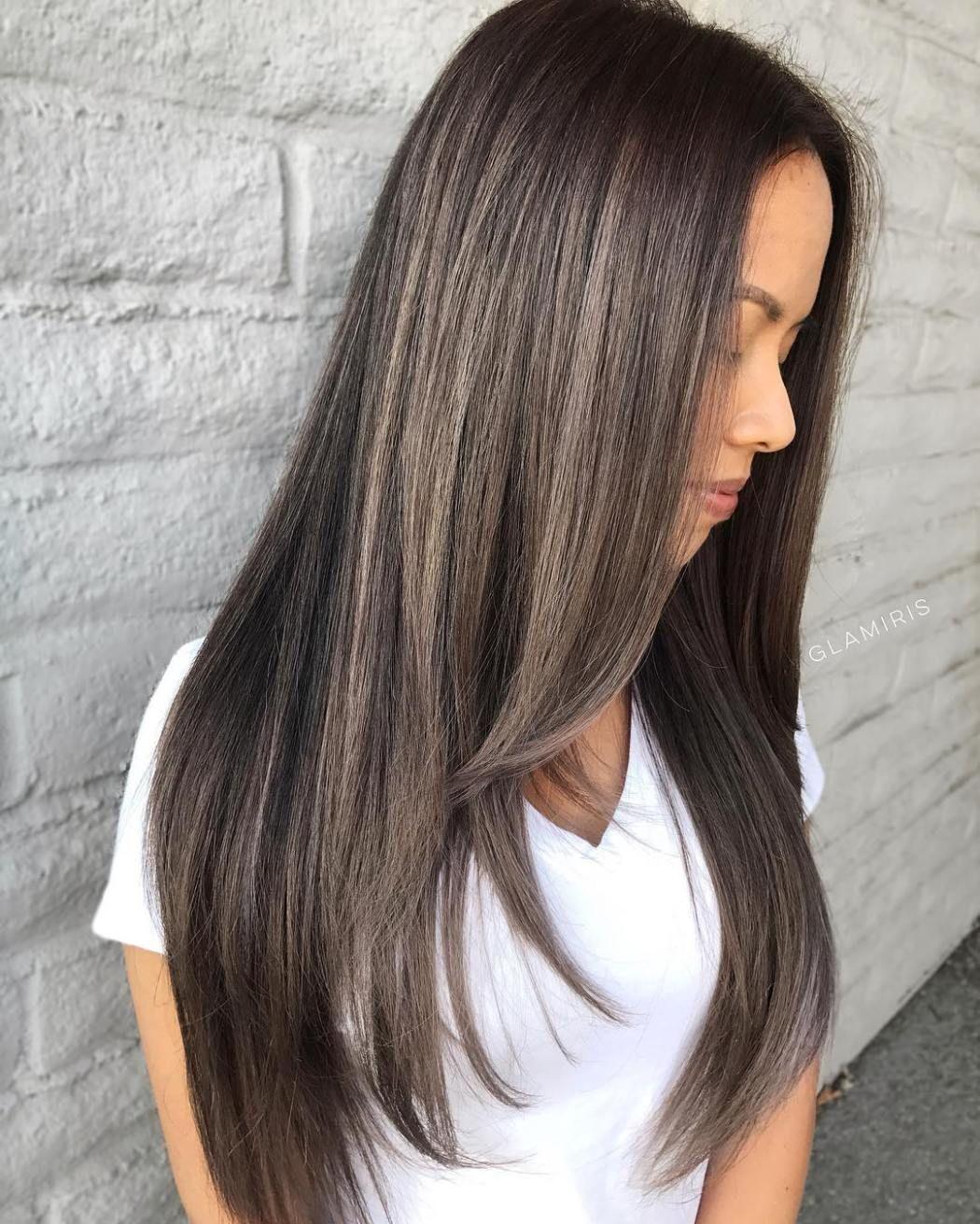 Mushroom Brown Hair A Hot New Trend You Ll Fall In Love With Haircuts Straight Hair Mushroom Hair Haircuts For Long Hair