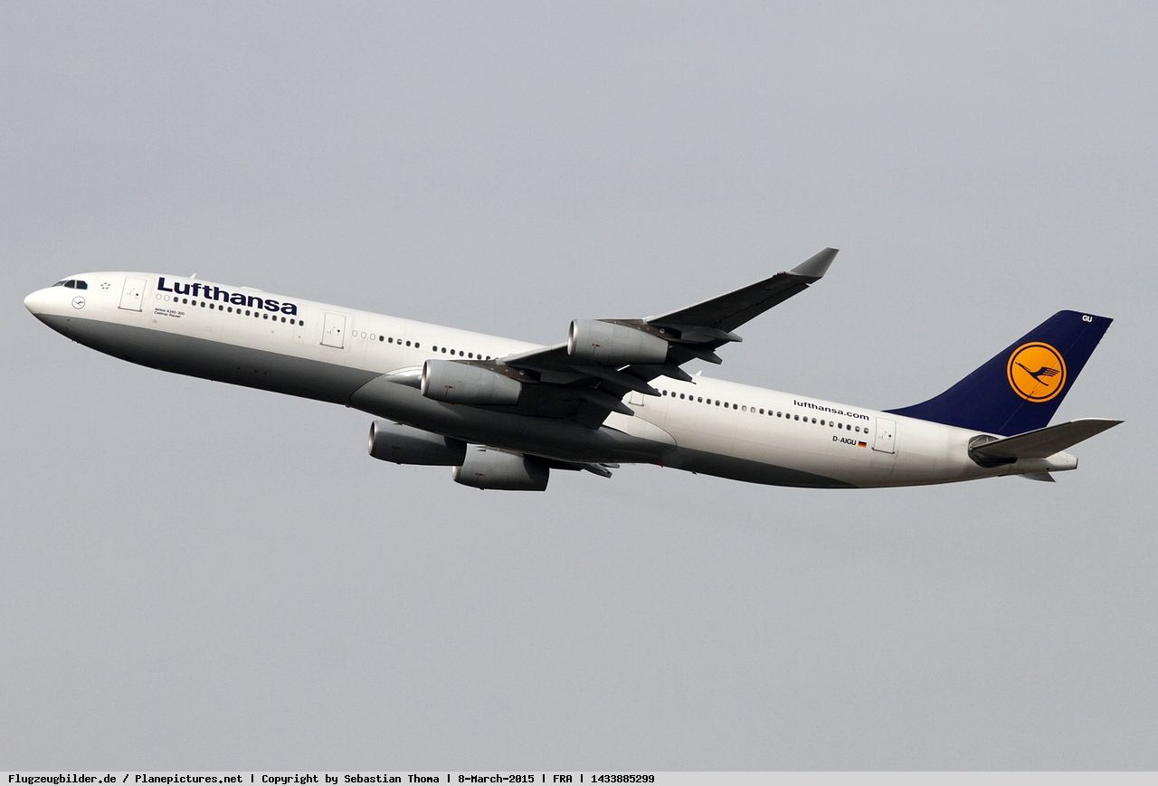 Photo Lufthansa Airbus A340 313x D Aigu Airbus Private Jet Photo