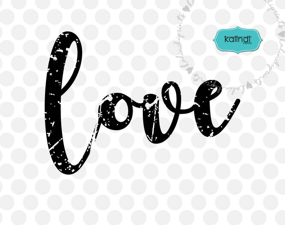 Download Grunge love svg, distressed svg, valentine day svg, love ...
