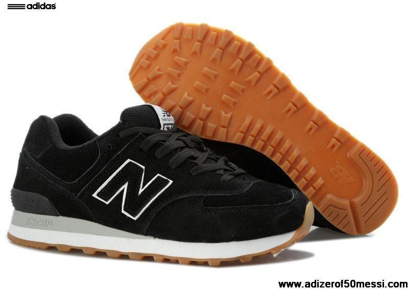 Cheap Discount New Balance NB 574 dark Black Brown For Men shoes Football  Shoes Shop