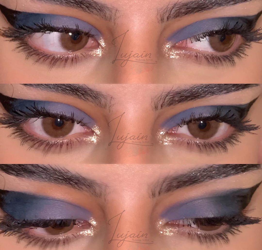 ل ـجين عبـدالل ـه On Instagram العدسات اماندي من ديڤا Makeup
