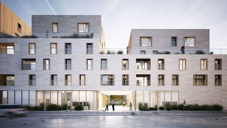 42 Modern Apartment Architecture Design 2018 - #Apartment #architecture #design #facade #modern #apartmentsinnice