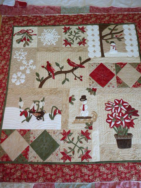 I love Christmas Quilts | Quilting Inspiration | Pinterest ... : quilting blogs christmas - Adamdwight.com
