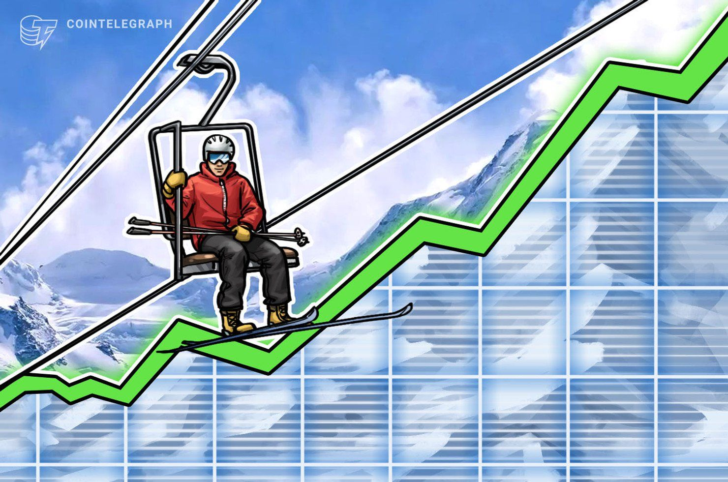 Bitcoin hovers over 5250 as top cryptos see growth