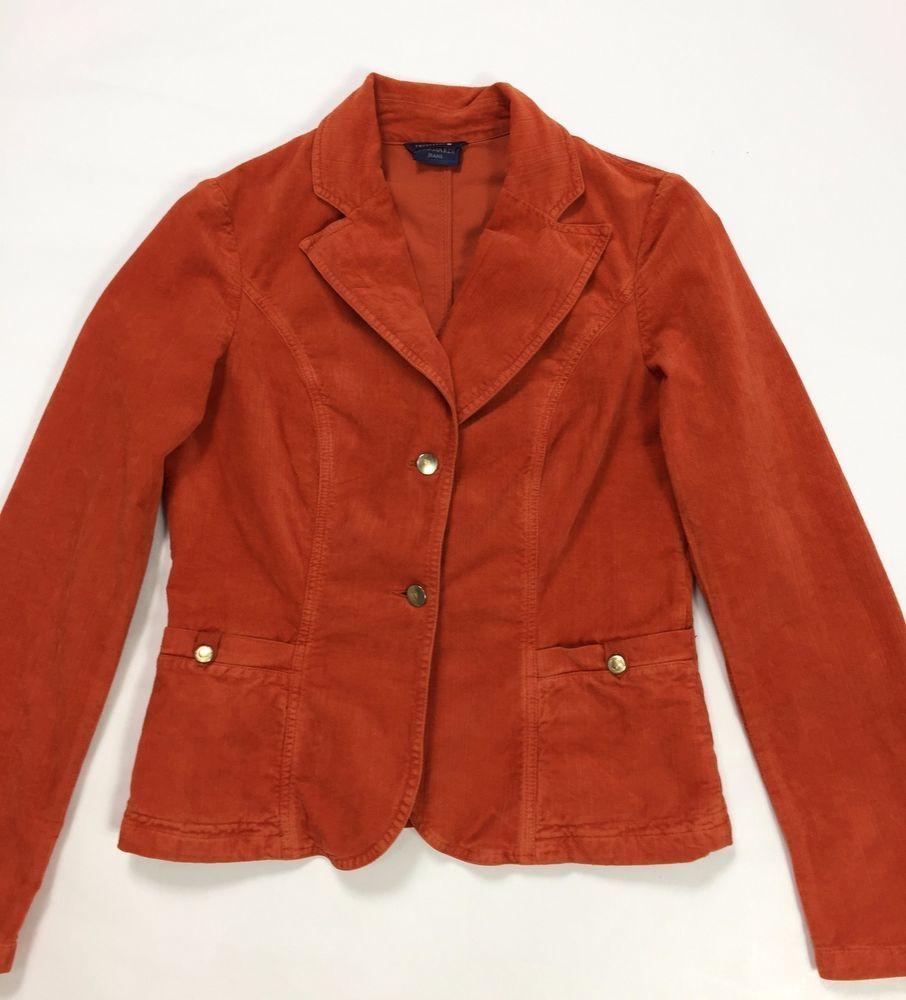 huge discount e4405 10a7a Trussardi jeans 46 corduroy velluto jacket giacca giacchetta ...