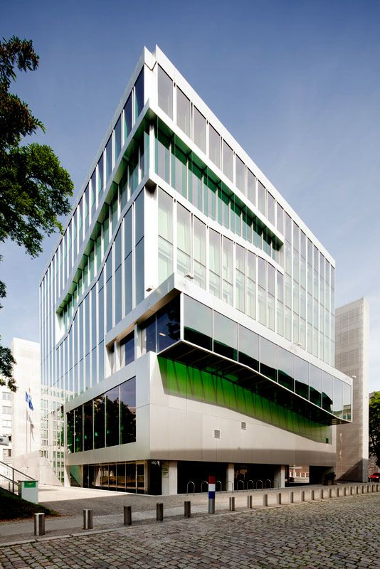 Netherlands Embassy / Berlin / Germany Architect: OMA | Fassaden ...