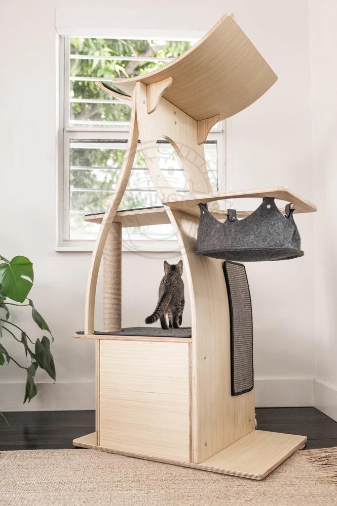 Jungle Gym Cat Tree Condo Cat Gym Cat Tree Condo Modern Cat Tree
