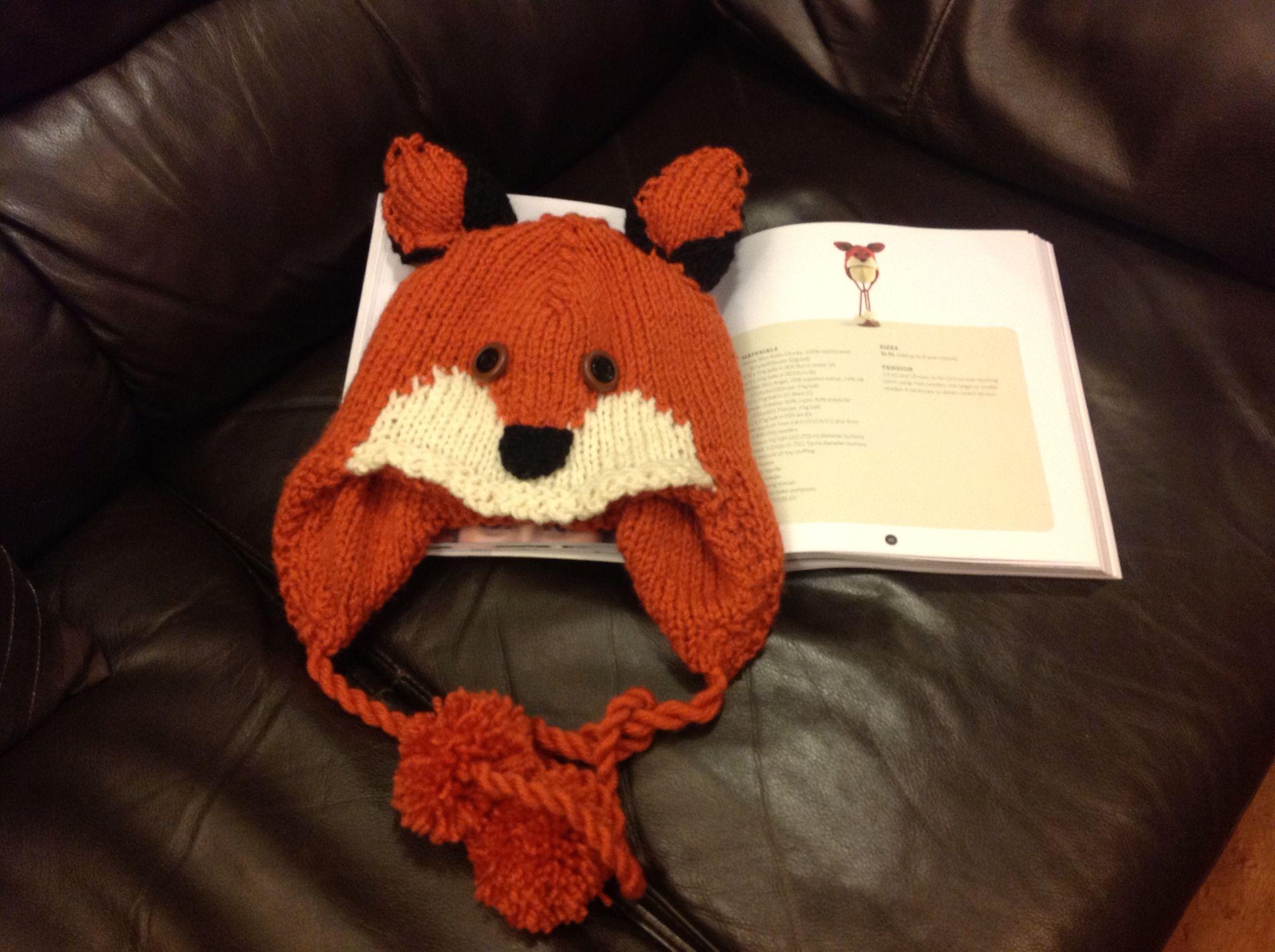 Foxy hat!