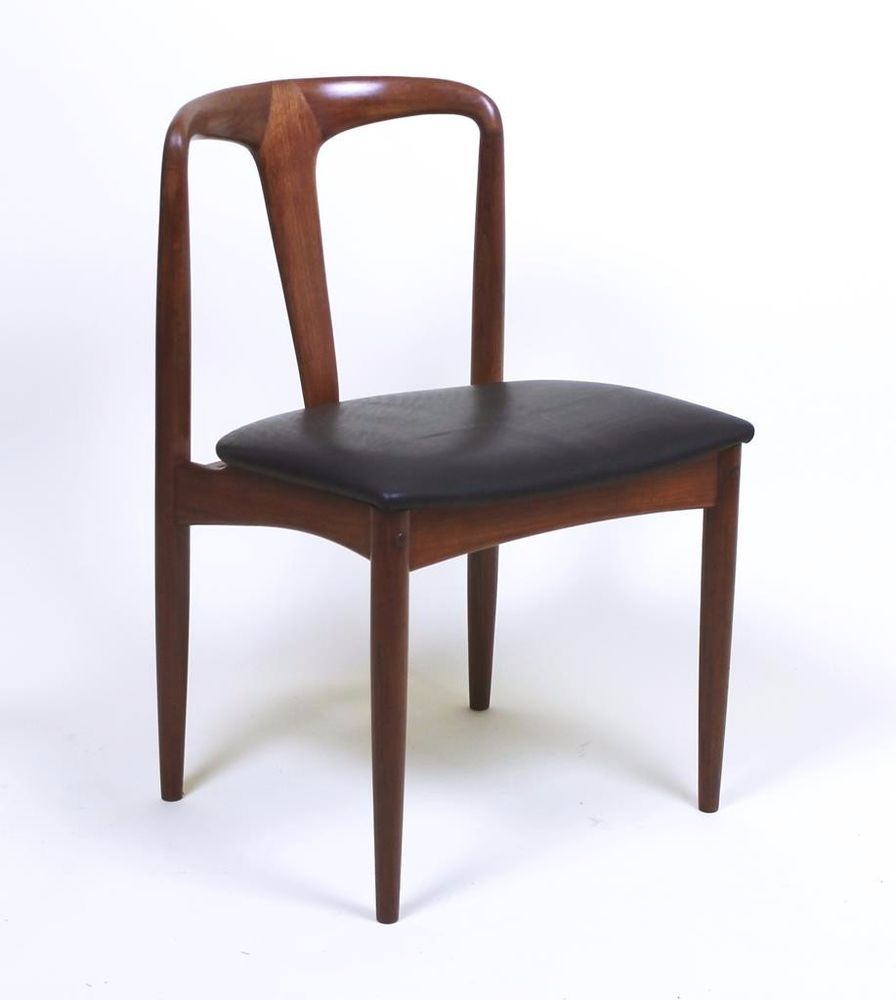 VINTAGE DANISH MODERN JOHANNES ANDERSEN MODEL JULIANE TEAK CHAIRS 6  AVAILABLE #Danishmodern