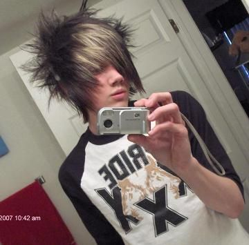 Scene Hairstyles For Guys At Yahoo Search Results Emo Hair Scene Hair Edgy Hair
