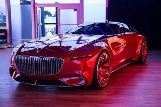 Konsep Mewah Mobil Listrik Masa Depan Vision Mercedes Maybach 6 Mobil Listrik Maybach Mercedes