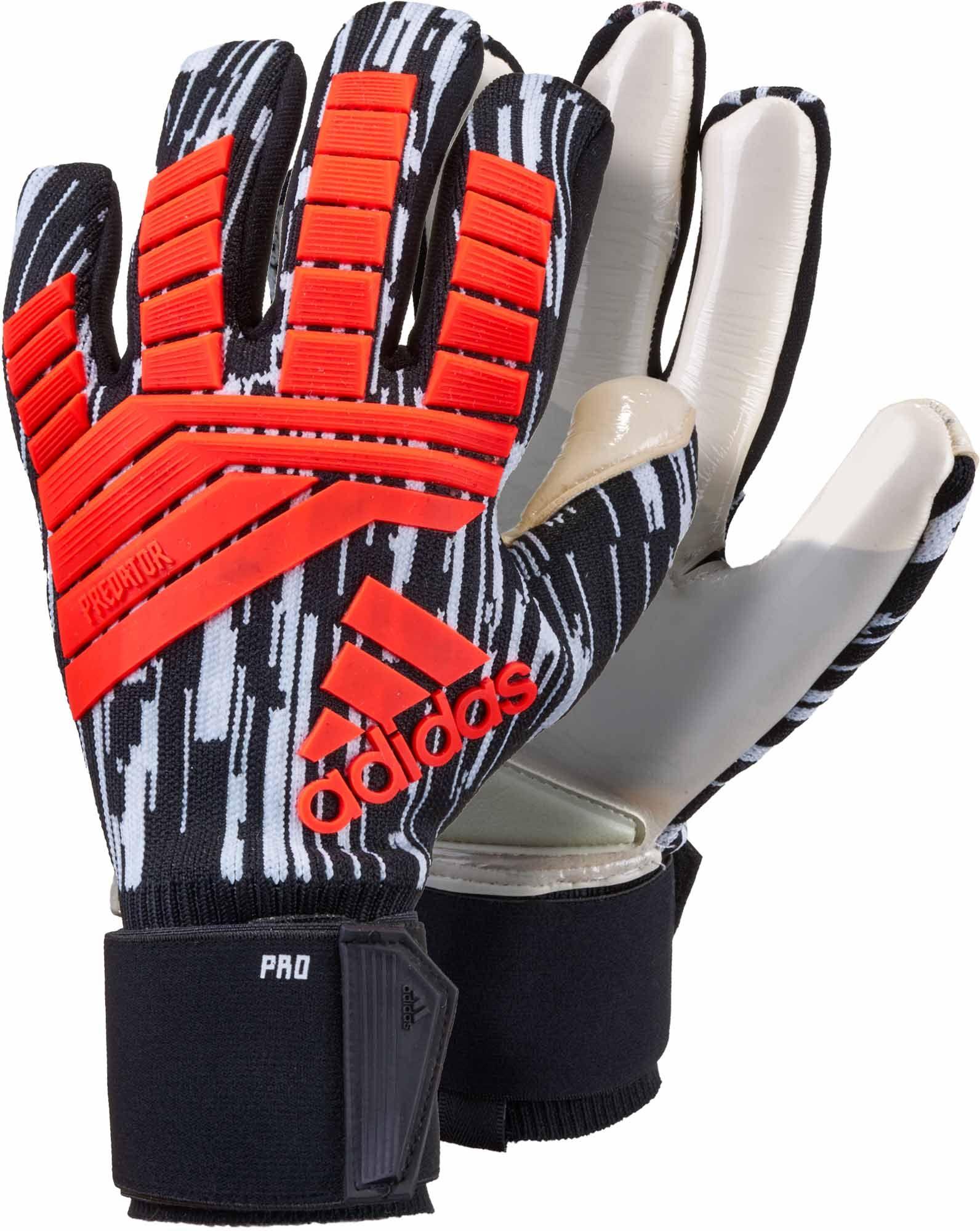 Adidas Predator Pro Goalkeeper Gloves Manuel Neuer Solar Red Black Adidas Predator Goalkeeper Gloves Goalkeeper
