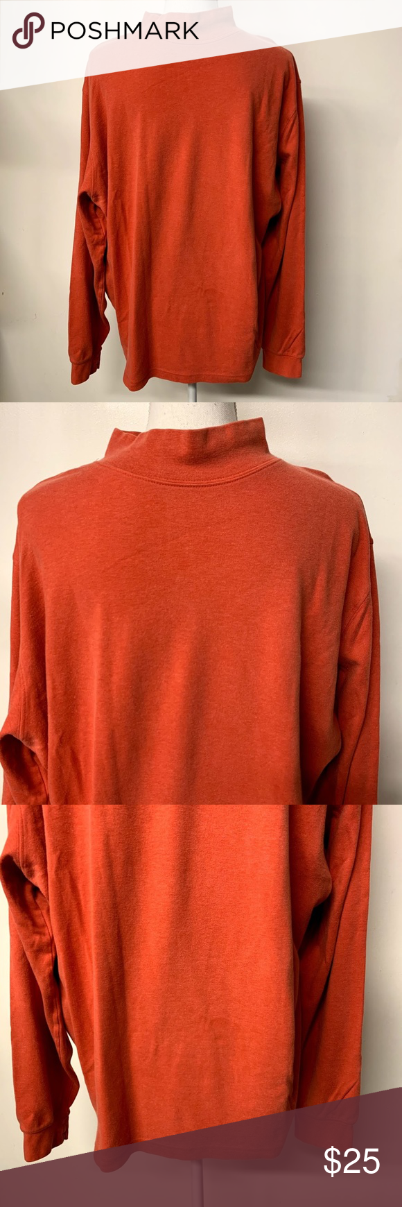 Lands End Orange Mock Turtleneck Sweatshirt Turtleneck Sweatshirt Mock Turtleneck Sweatshirts [ 1740 x 580 Pixel ]