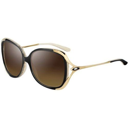 Oakley Changeover Women's Lifestyle Outdoor Sunglasses/Eyewear - Mademoiselle/VR50 Brown Gradient / One Size Fits All