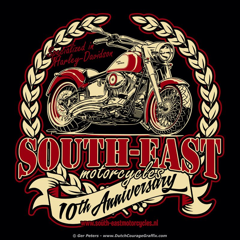 Tenth Anniversary At South East Motorcycles Harley