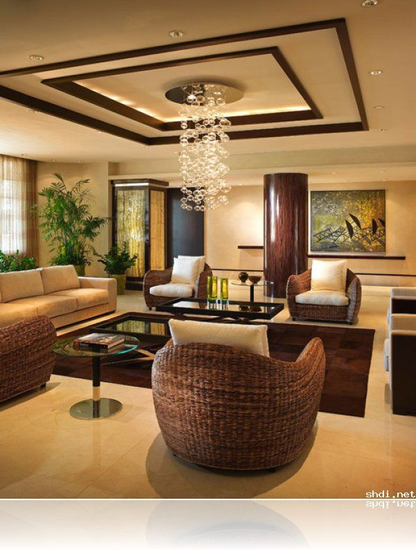 False Ceiling Designs For Living Room In Flats: Love The False Ceiling Design… Simple Yet Classy