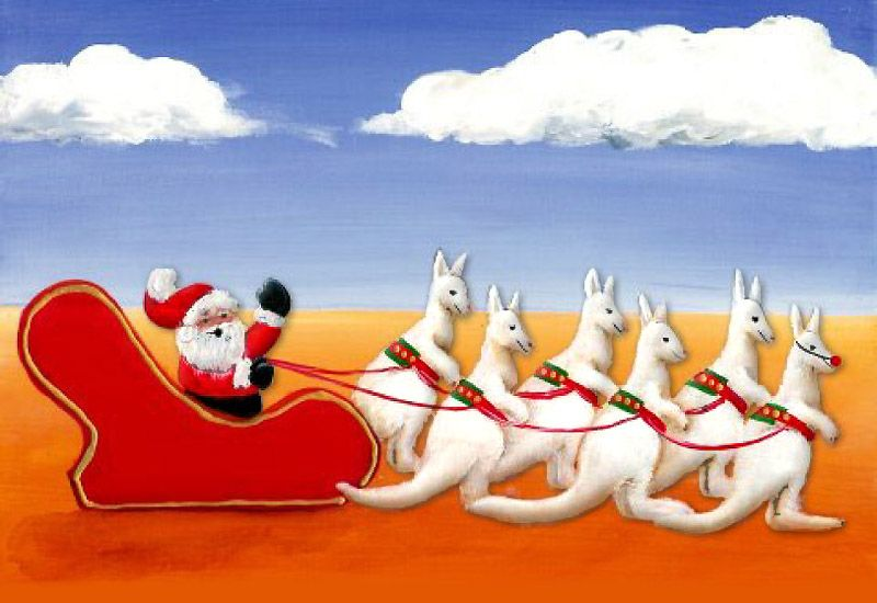 Christmas In Australia Santa.Six White Boomers A Rather Unique Santa Song From
