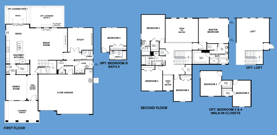 The Dillon Is Just One Of Many Floorplan Options From Richmond American Homes At Shearwater With One Richmond American Homes Richmond American Richmond Homes