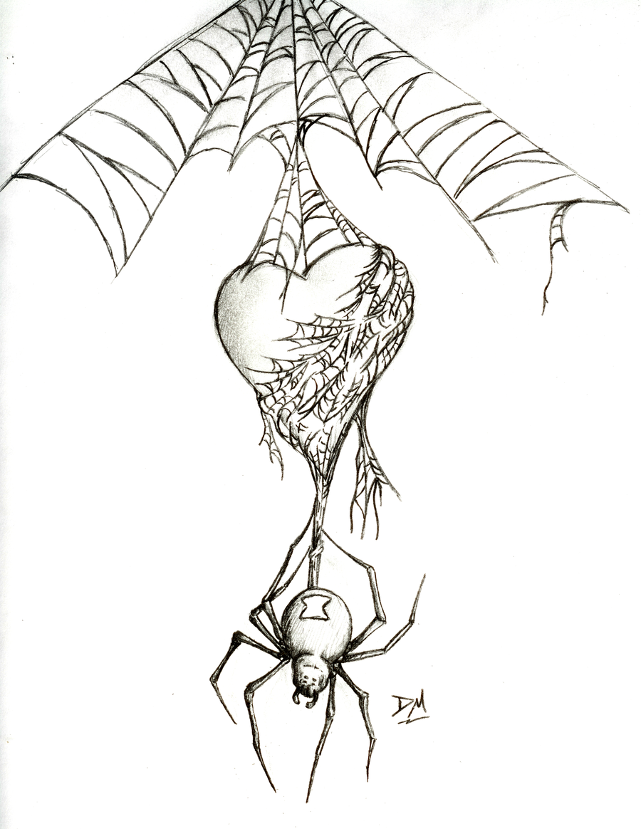Spider Web Tattoo Stencil Tattoowing Tattoo Stencil - Black widow spider by mehdals on deviantart badass tattoosdream