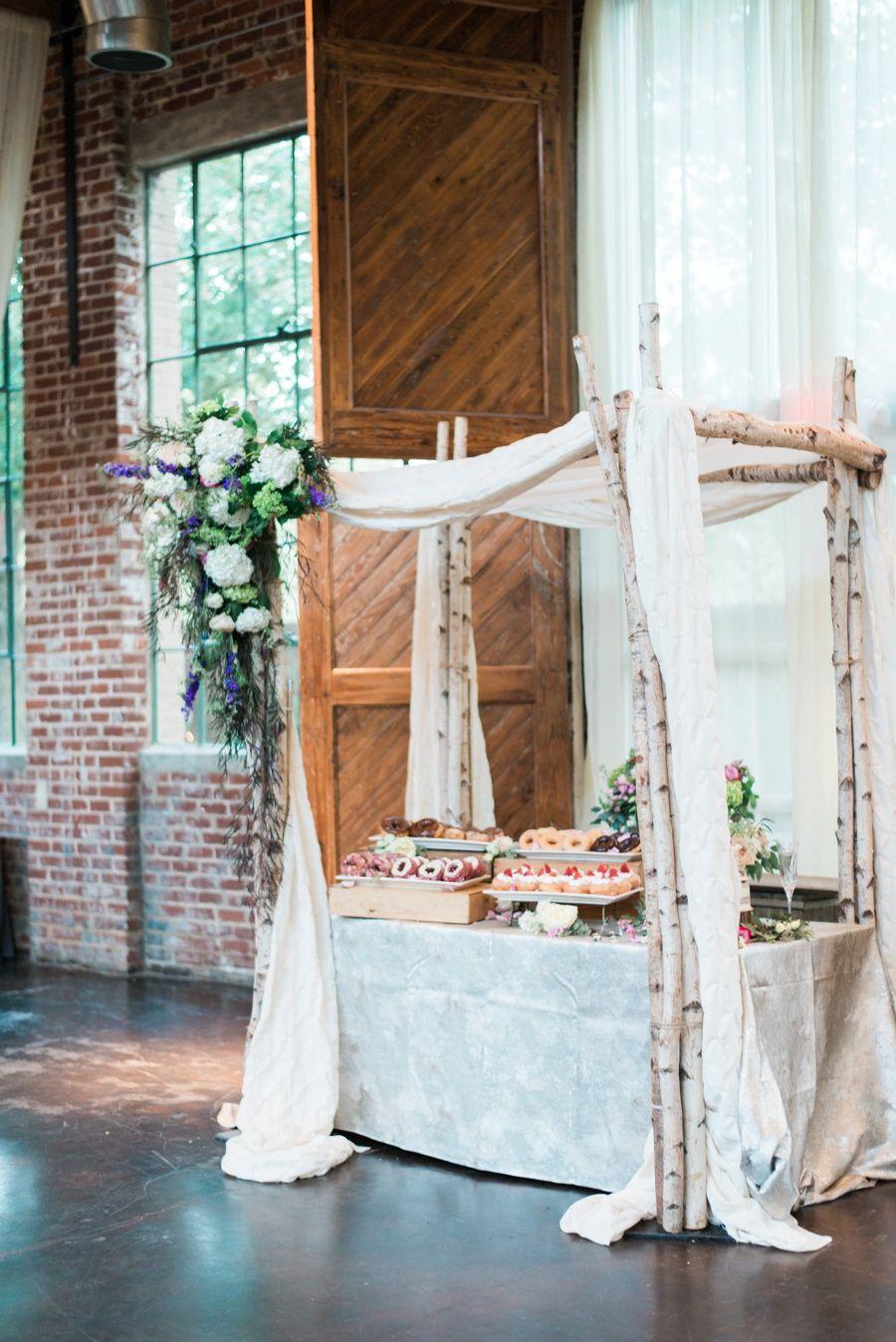 Doughnut Display Atlanta Wedding Photographers Alea