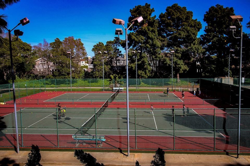 Public Tennis Courts Palisades Tennis Center Pacific Palisades Ca It S A Favorite Among The L A Crowd For Th Public Tennis Courts Tennis Court Play Tennis