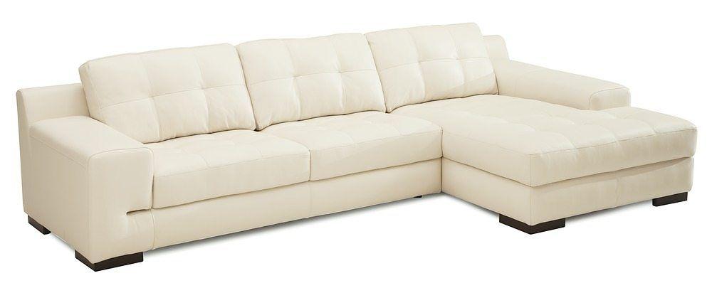 Bimini Sectional Sofa | Furniture, Leather sectional, Tufted ...