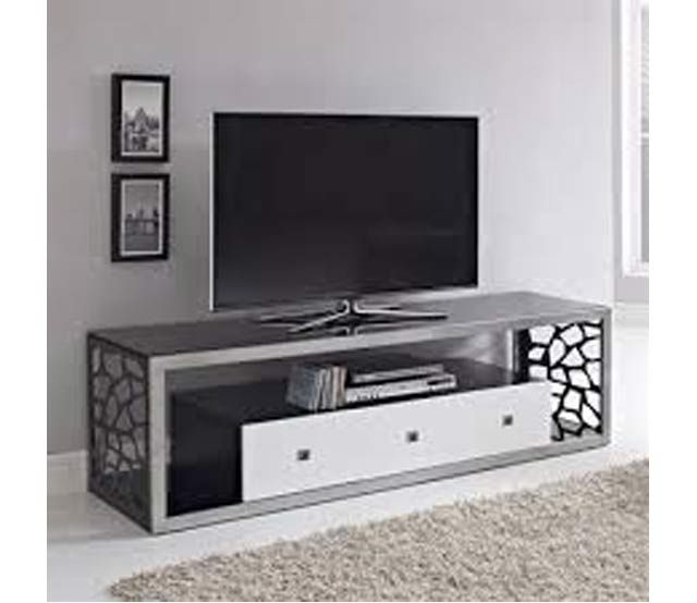70 Glass Metal Tv Stand Bring A Sophisticated Look To Any
