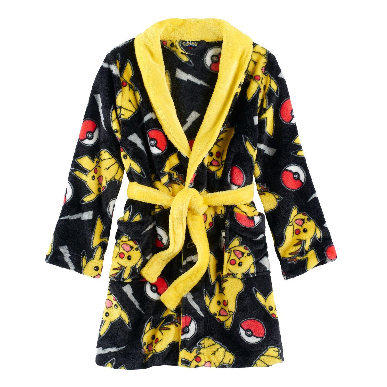 Teddy  Boys 6 12 Pokemon Fleece Robe