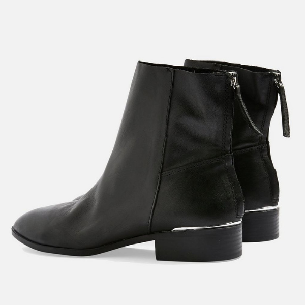 41cbcbf4781 WIDE FIT KOKO Unlined Flat Leather Boots Every modern girl needs a  versatile pair of black