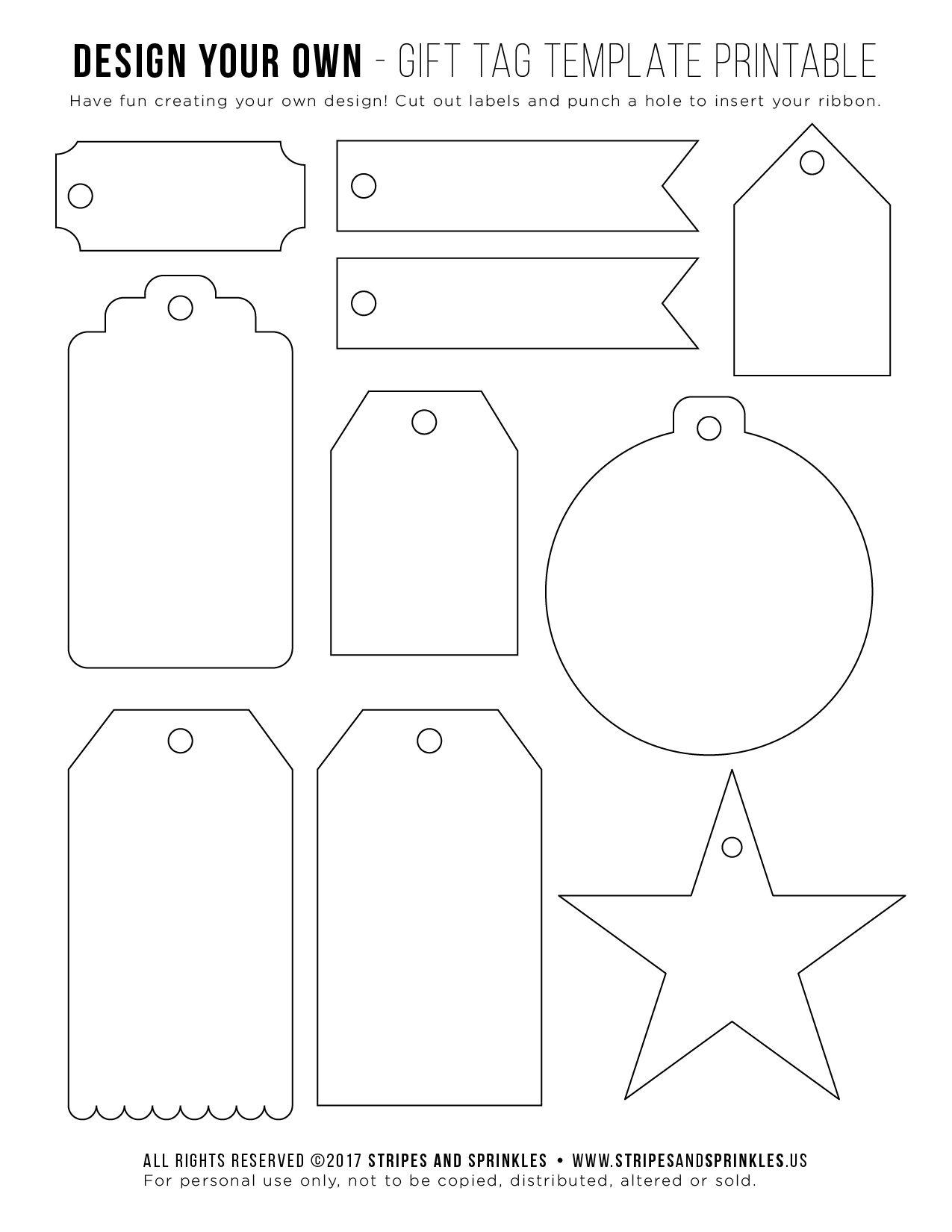 Free Gift Tag Template Printable Etiquetas Para Artesanato Etiquetas Feitas A Mao Tags Ideias