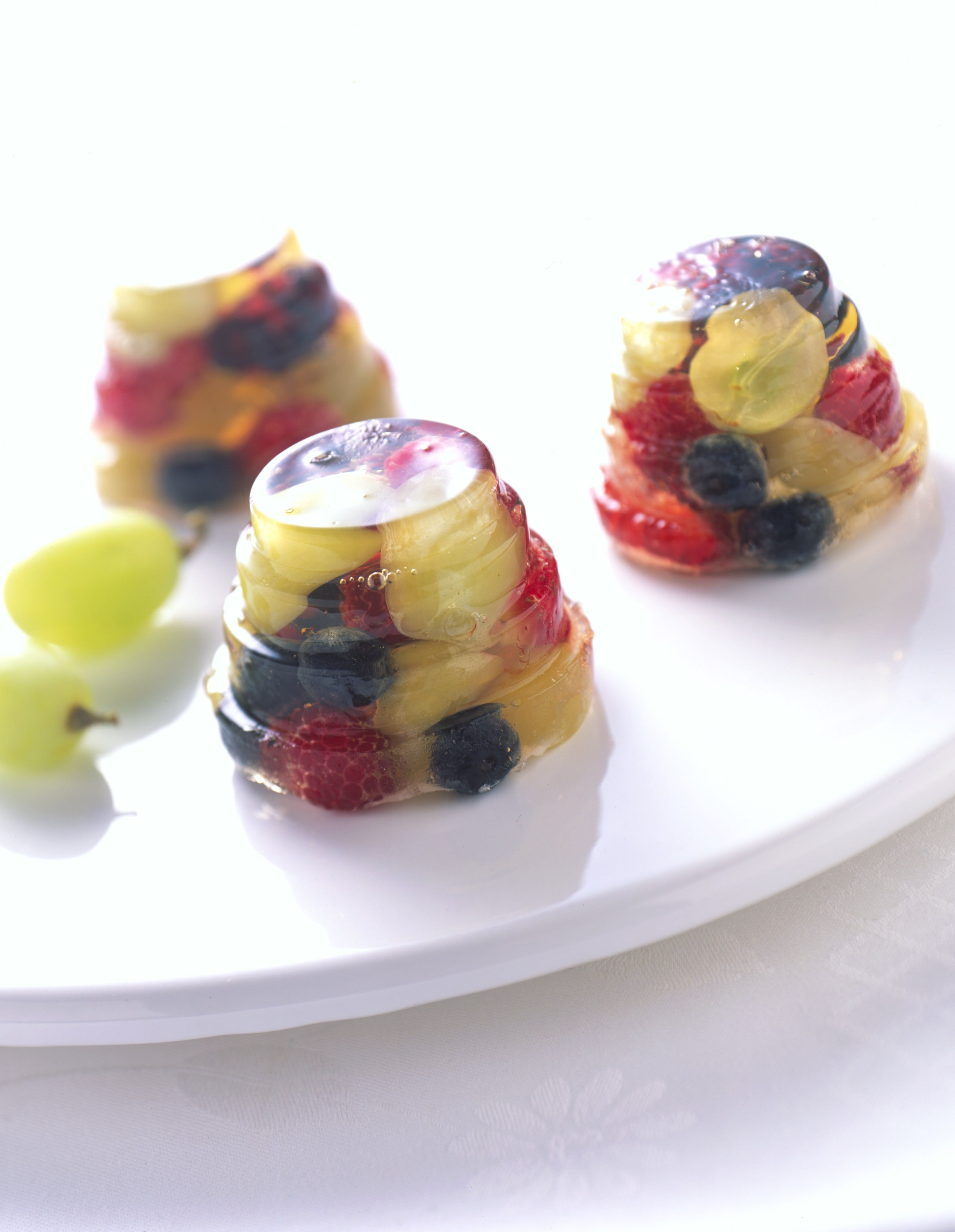 These Sparkling Grape and Berry Jells packed with fresh Grapes from California are always a summertime favorite.