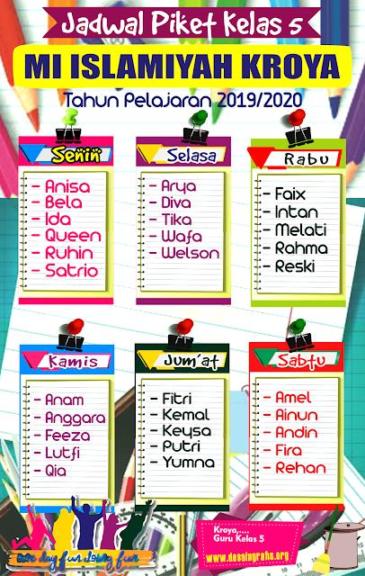 Background Jadwal Piket Kelas : background, jadwal, piket, kelas, Desain, Jadwal, Pelajaran, Menarik, Kreatif, Keren, Spanduk,, Gambar, Bunga,, Brosur