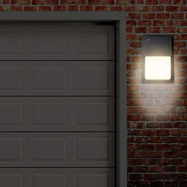 Rectangular outdoor led wall pack light with dusk to dawn sensor rectangular outdoor led wall pack light with dusk to dawn sensor 1050 lumens aloadofball Images