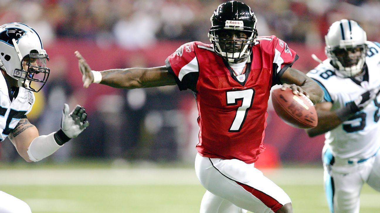 Vick Writes Letter To Atlanta Is Big Falcons Fan Michael Vick Football Vicks