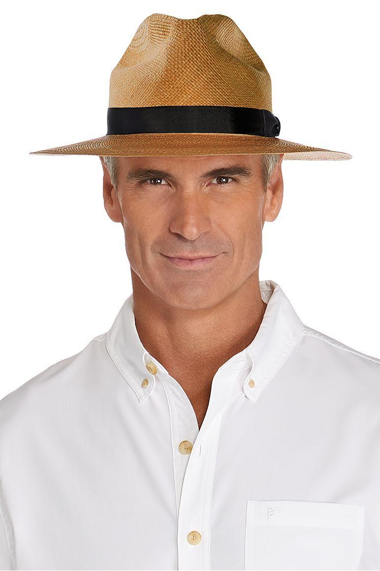 Men S Panama Fedora Upf 50 Hats For Men Panama Hat Men Fedora
