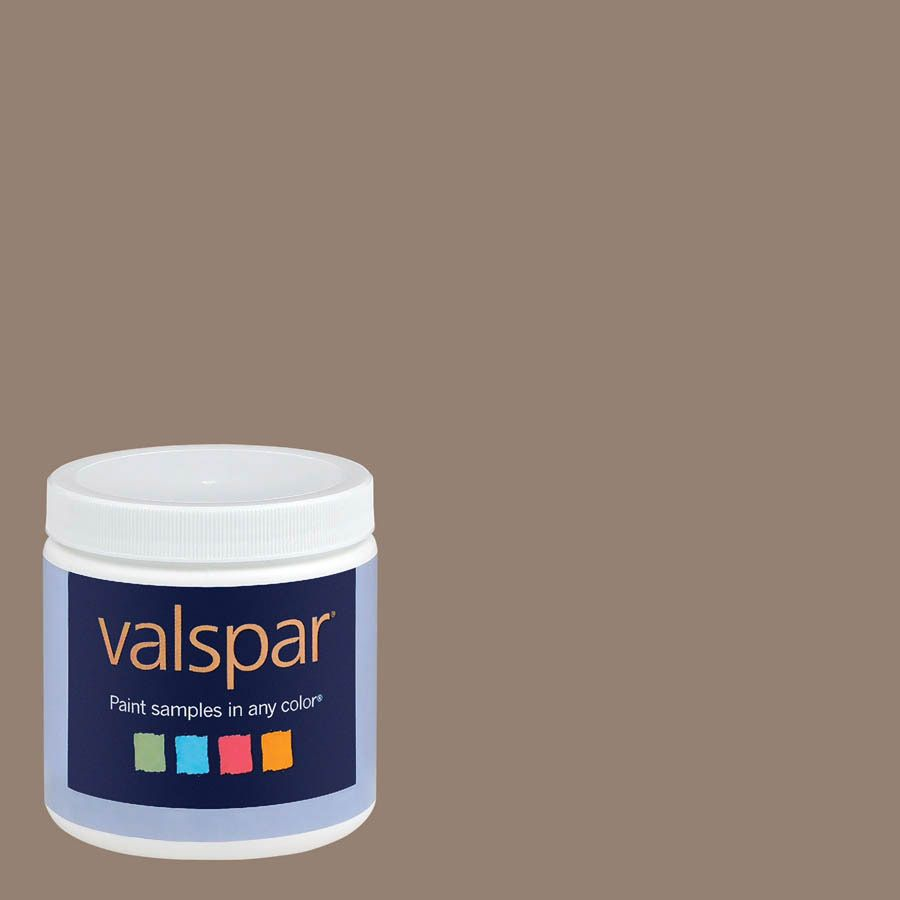 shop valspar 8 oz safari beige interior satin paint sample at