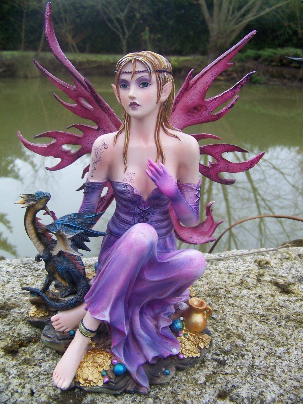 Bien-aimé Figurine Fée Companion Fairies Diantha B2793G6 - Boutique Fées et  CF02