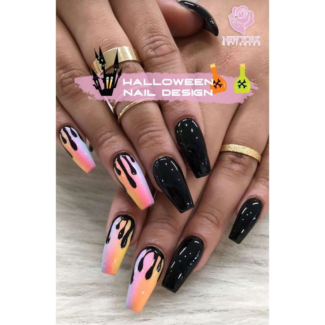 Super Spooky Nails That Will Get You into the Halloween ...