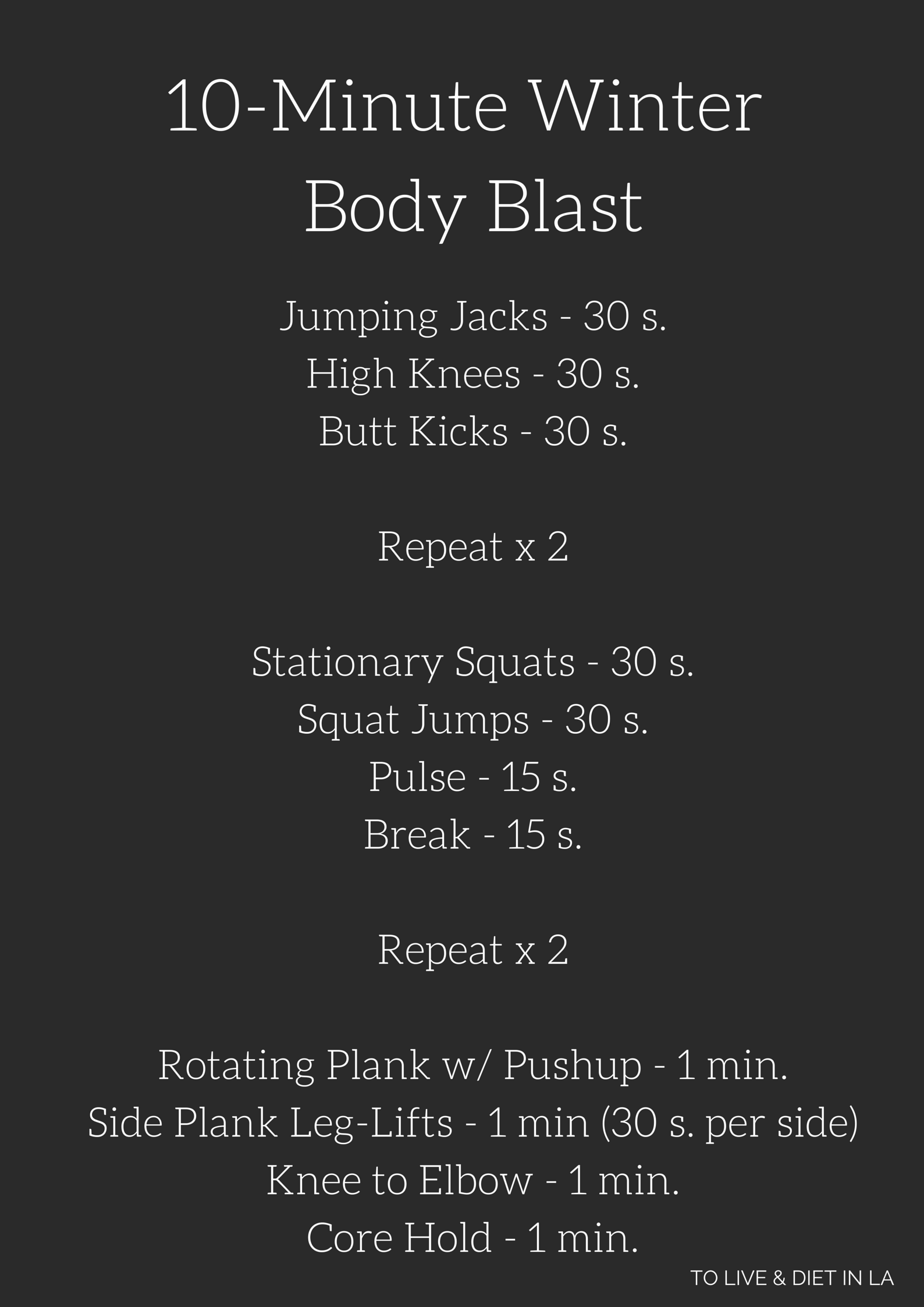 10-Minute Bodyweight Circuit Workout forecasting
